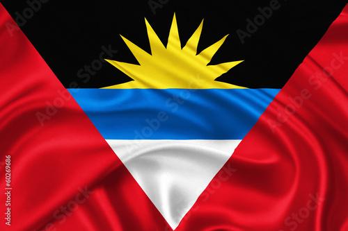 Papiers peints Amérique du Sud flag of Antigua and Barbuda