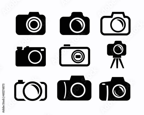 Fotografie, Obraz  camera icons