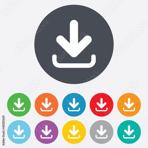 Fotografía  Download icon. Upload button.