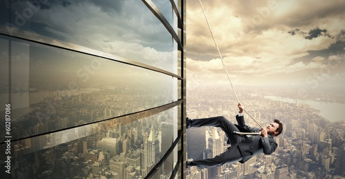 Fotografia  Climb to the success