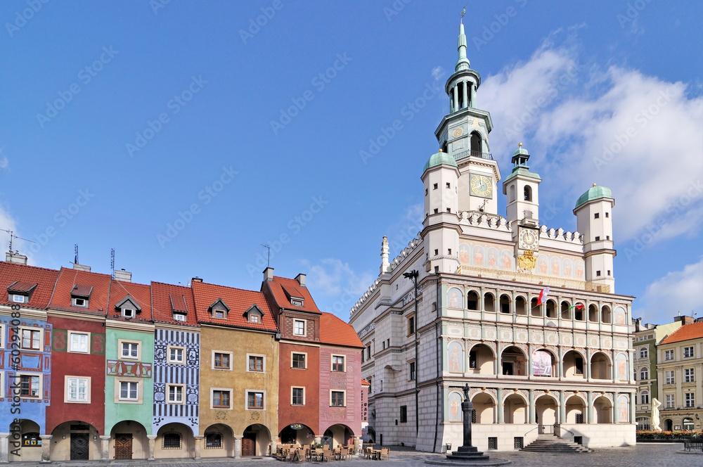 Fototapeta Market square, Poznan, Poland