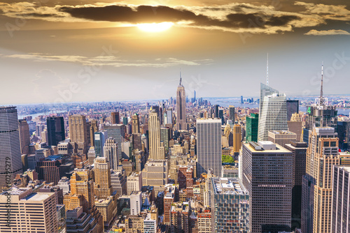 Fototapety, obrazy: Beautiful view of  New York City skyline