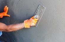 Plasterer Concrete Worker At W...