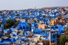 View Of Jodhpur, The Blue City, Rajasthan, India