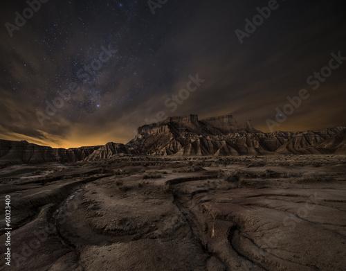 Plakat Noc nad pustynią