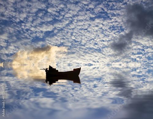 surcando las nubes