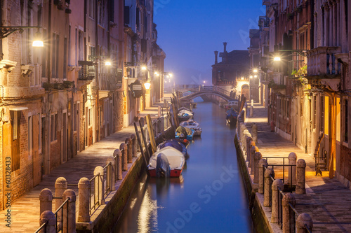 Fototapeta Wieczorny klimat w Wenecji duża