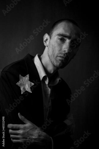 Fotografie, Obraz  tortured Jew