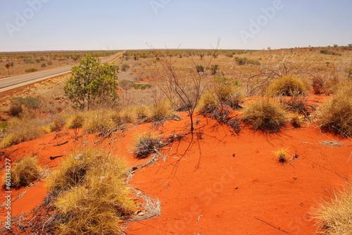 Papiers peints Orange eclat Australian outback