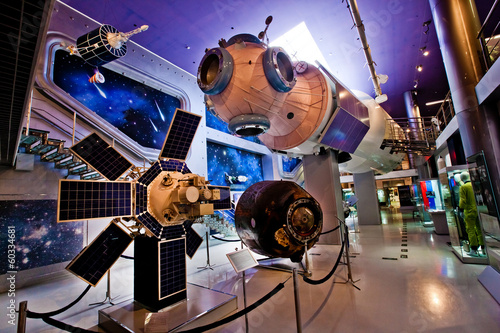 Moscow Space Museum Canvas-taulu