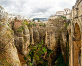 Ronda canyon. Province of Malaga, Spain