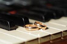 Wedding Rings And Piano