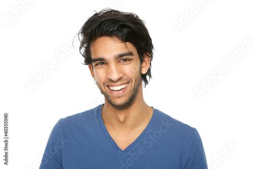Valokuvatapetti Handsome young indian man smiling