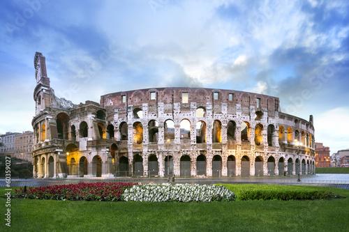 Colisée de Rome Tableau sur Toile
