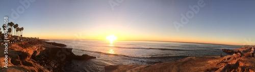 Fotografia Sun Diego Sunset Cliffs