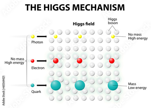 The Higgs Mechanism and Higgs Field Tablou Canvas