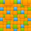 Abstract colorful vector tech backdrop