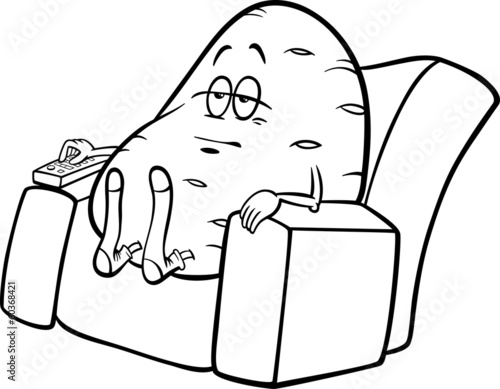 Couch Potato Clip Art Free Download Oasis Dl Co