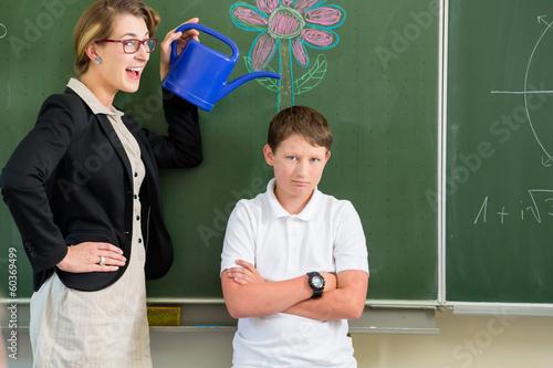Lehrerin Und Ihre Schüler