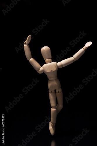 Fotografie, Obraz maniqui en posicion de danza