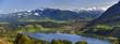 Großer Alpsee mit Alpen in Bayern