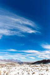 The Andes, Road Cusco- Puno, Peru,South America