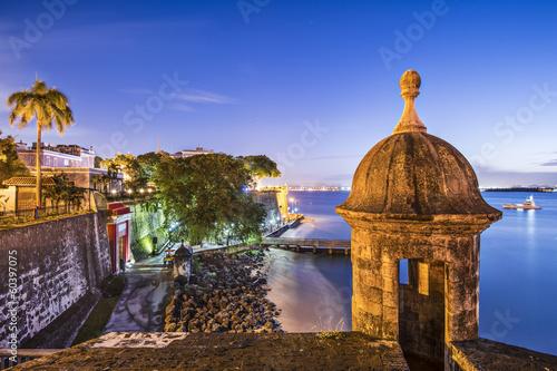Cadres-photo bureau Caraibes San Juan, Puerto Rico at Paseo De La Princesa