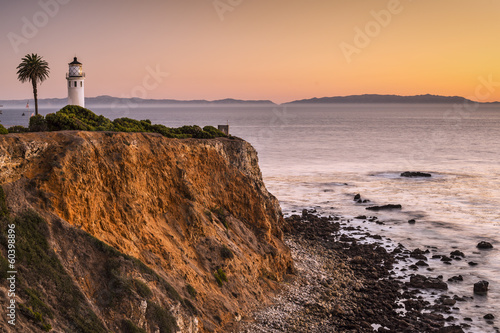 Vicente Point, Rancho Palos Verdes, Los Angeles California, USA Canvas Print