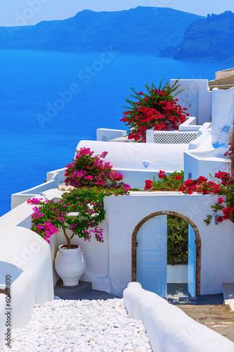 Fototapeta Santorini island, Greece