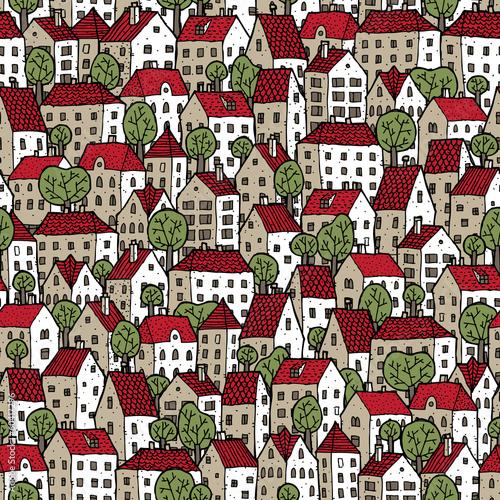 miasto-bez-szwu-w-kolorach-z-drzewami