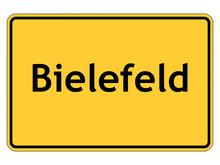 Ortsschild Bielefeld