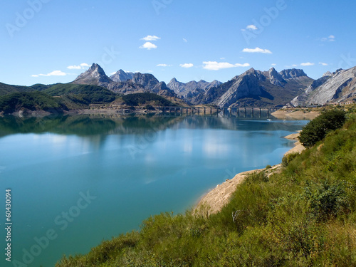 Aluminium Prints Spain 2013 - Picos de Europa, artificial lake