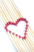 Matches Making A Heart