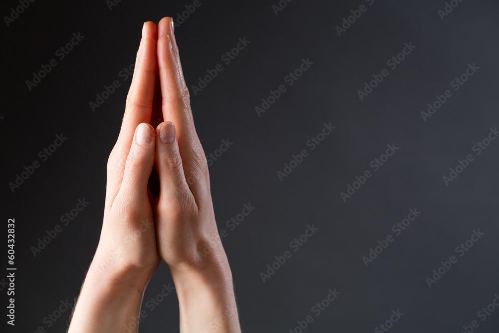 Fototapety, obrazy: Hands and Prayer