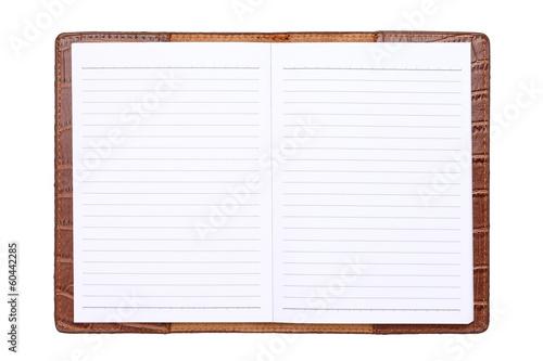 手帳 Canvas Print