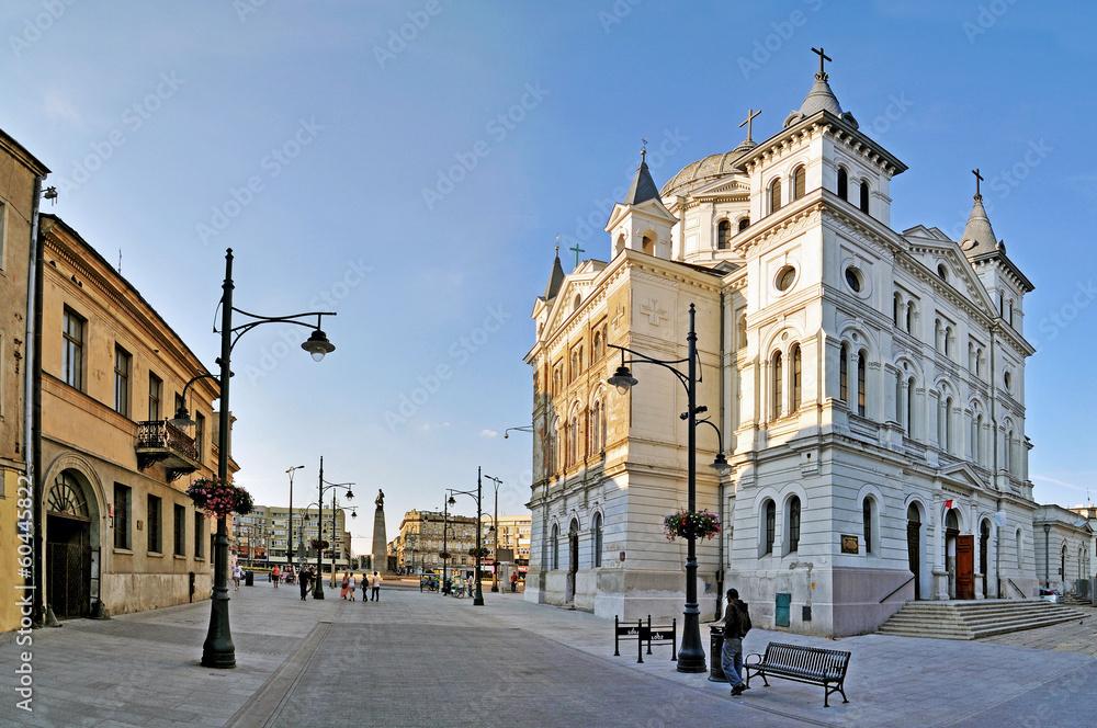 Fototapety, obrazy: Ulica Piotrkowska - Panorama