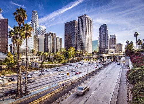 Foto op Canvas Los Angeles Downtown Los Angeles, California Cityscape