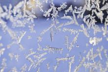 Ice Window Background