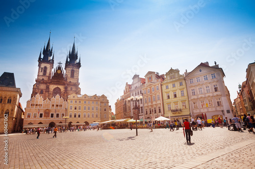Acrylic Prints Prague Old Town Square