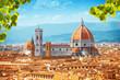 Leinwanddruck Bild - Basilica di Santa Maria del Fiore