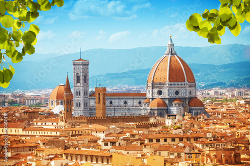 In de dag Florence Basilica di Santa Maria del Fiore