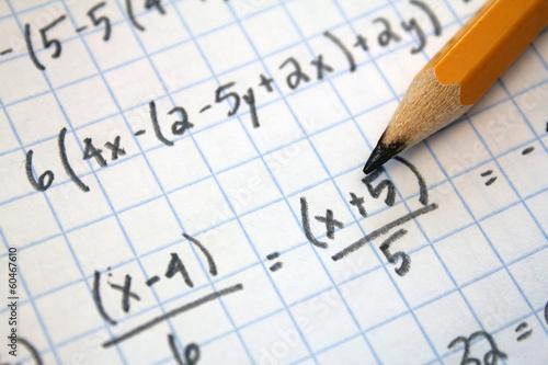 math problems Canvas Print