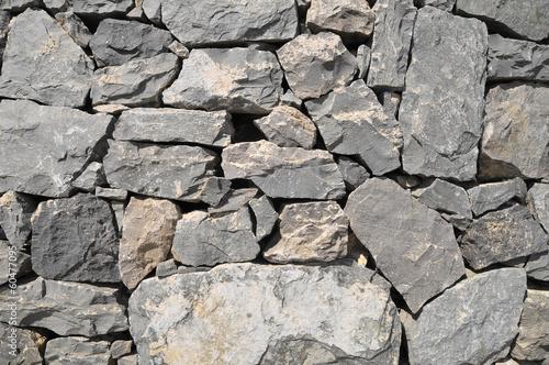 Gray Rock Ancient Wall