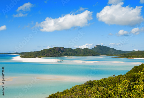 Foto op Canvas Australië Whitehaven beach lagoon at national park queensland australia tr
