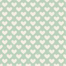 Seamless Heart Texture Pattern