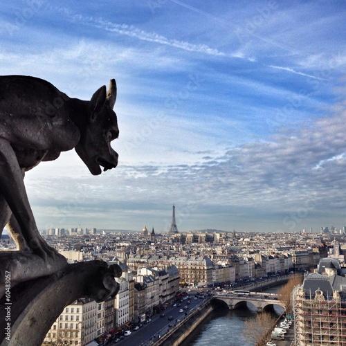 Fotografia Paris Gargoyle