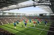 canvas print picture - Stadion Kicker