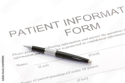 Fotografía  Patient Form