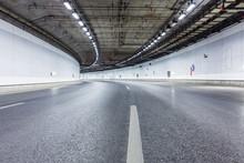 Interior Of An Urban Tunnel