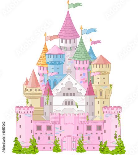 Plakat Bajkowy Zamek